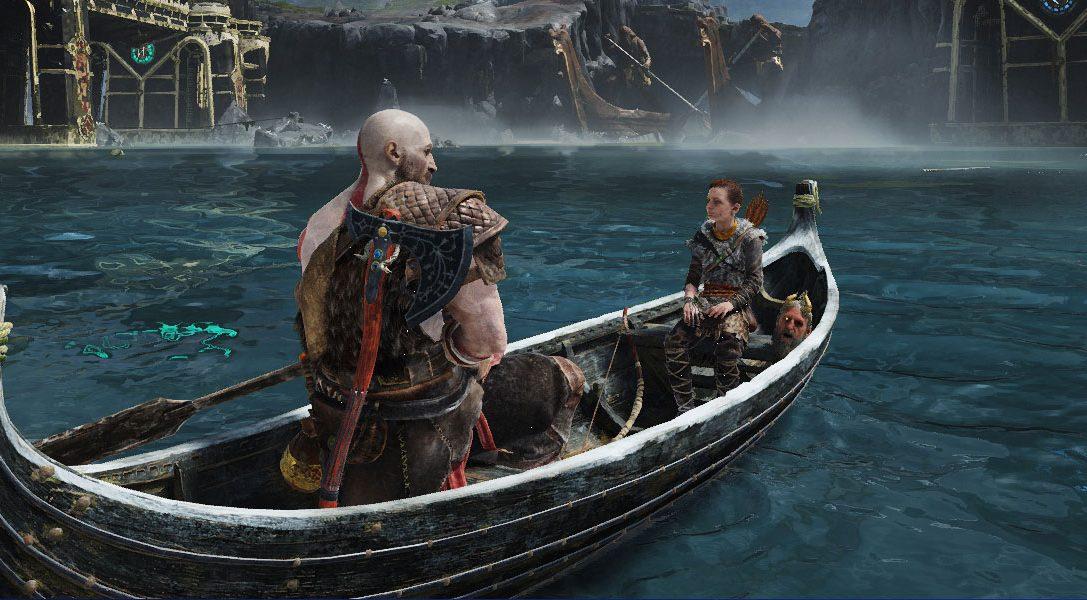Comment les fantastiques scènes de bateau ont été créées dans God of War