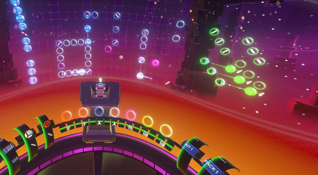 Créez vos morceaux en réalité virtuelle avec Track Lab, disponible dès aujourd'hui sur PS VR