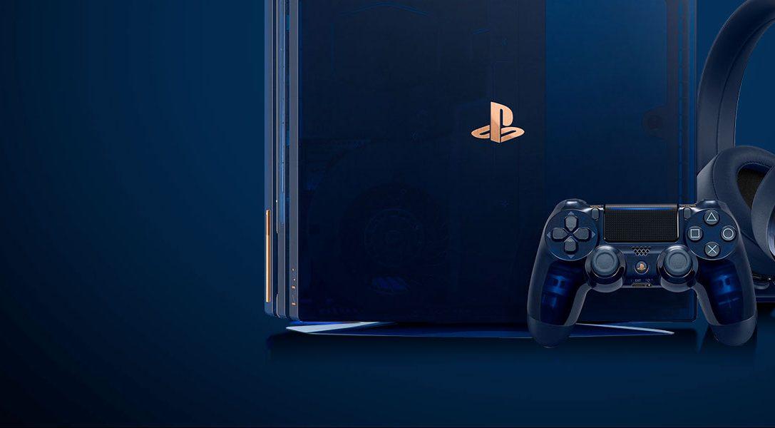 Participez au jeu-concours PS4 PRO 2To Édition Limitée 500 Millions