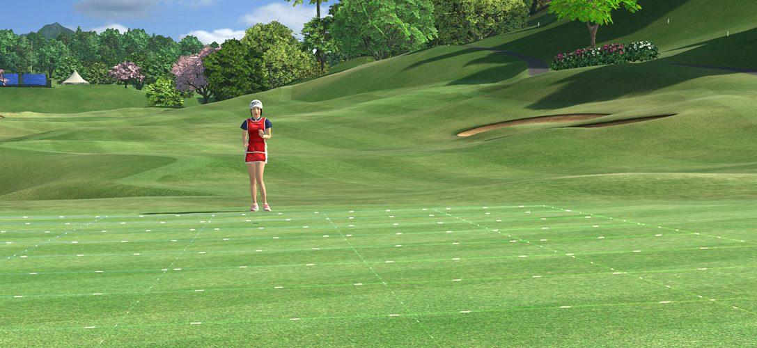 Everybody's Golf VR débarque sur PS VR en 2019