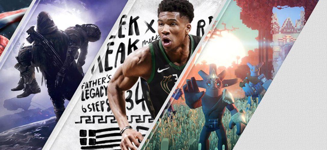 Les sorties les plus attendues sur PlayStation Store cette semaine : Marvel's Spider-Man, Destiny 2 : Renégats, NBA 2K19, V-Rally et Boundless