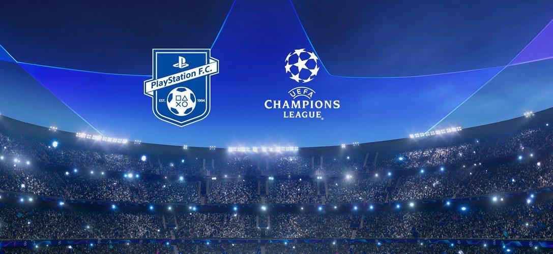 Rejoignez le PlayStation F.C. pour tenter de remporter des billets pour l'UEFA Champions League