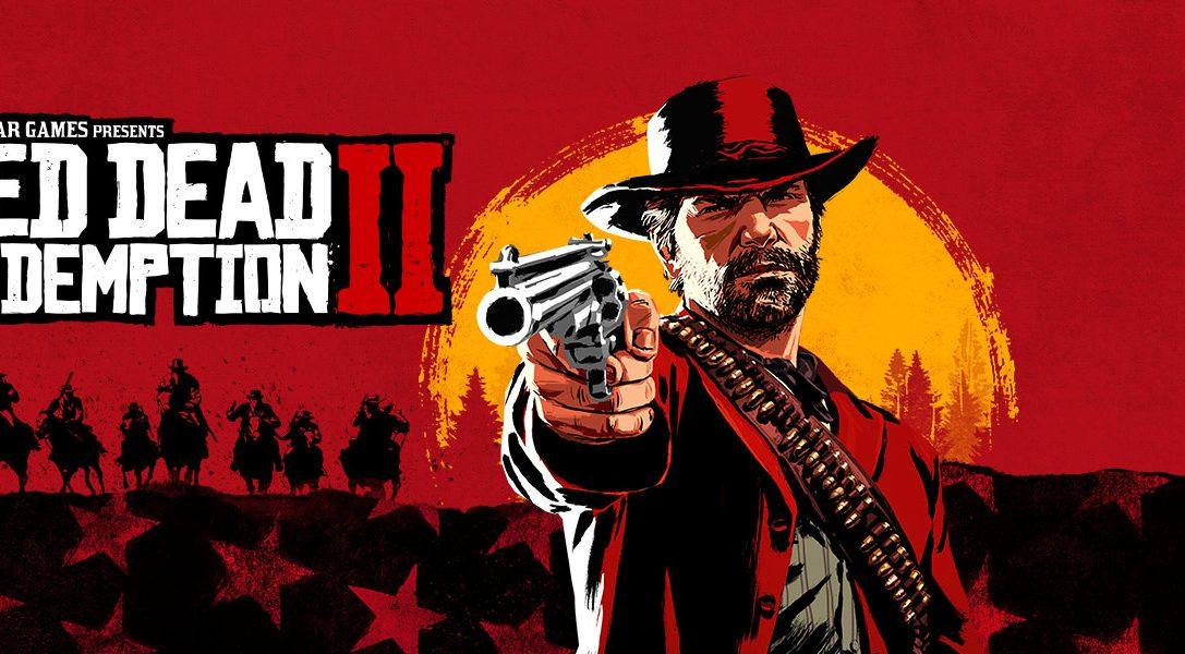 Red Dead Redemption 2 disponible dès maintenant sur PS4