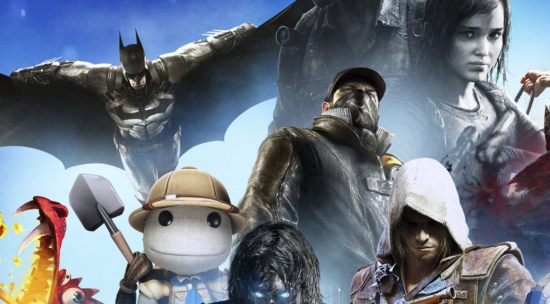 De nouveaux jeux rejoignent la gamme PlayStation Hits