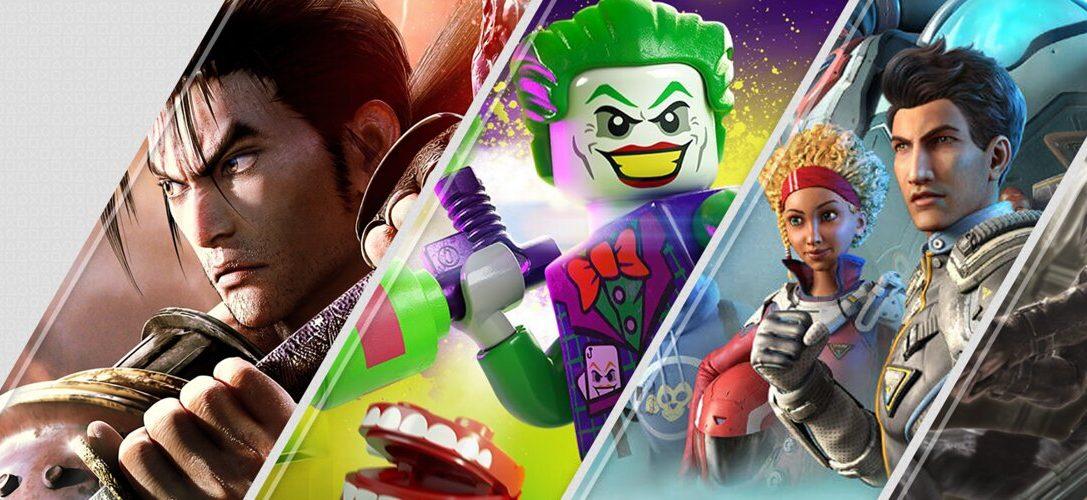 Les nouveautés de la semaine sur PlayStation Store : SoulCalibur VI, LEGO DC Super-Villains et plus