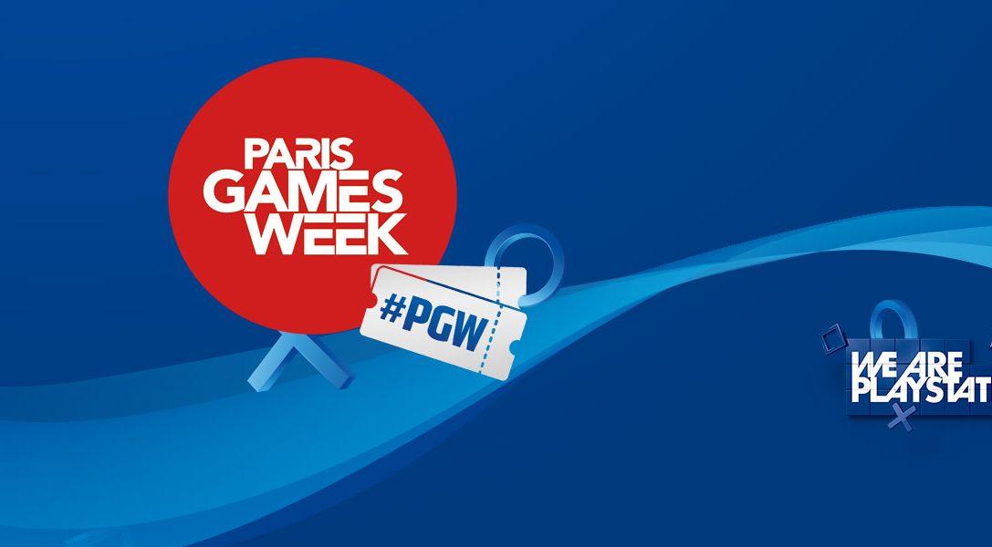 We Are PlayStation vous invite à la Paris Games Week 2018 !