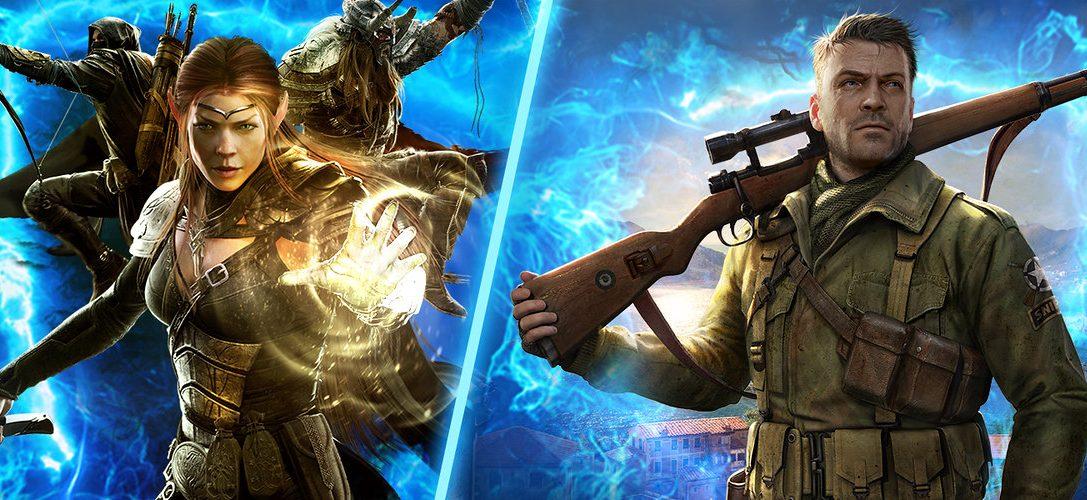 The Elder Scrolls Online et Sniper Elite 4 font partie des nouveaux jeux disponibles sur PlayStation Now cette semaine