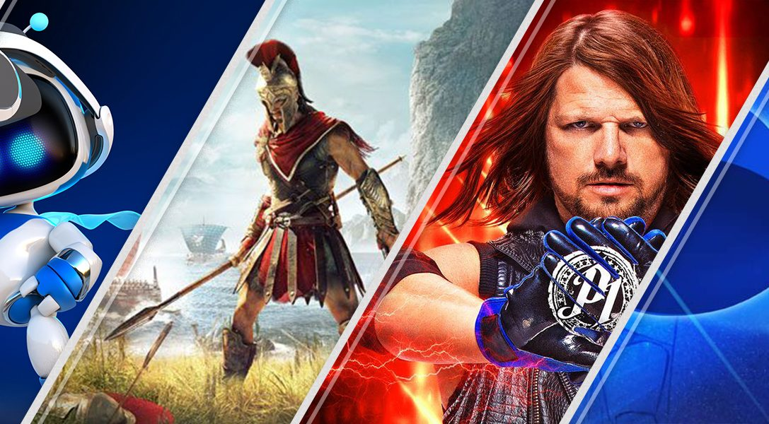 Nouveau sur le PlayStation Store cette semaine : Astro Bot Rescue Mission, Assassin's Creed Odyssey, more