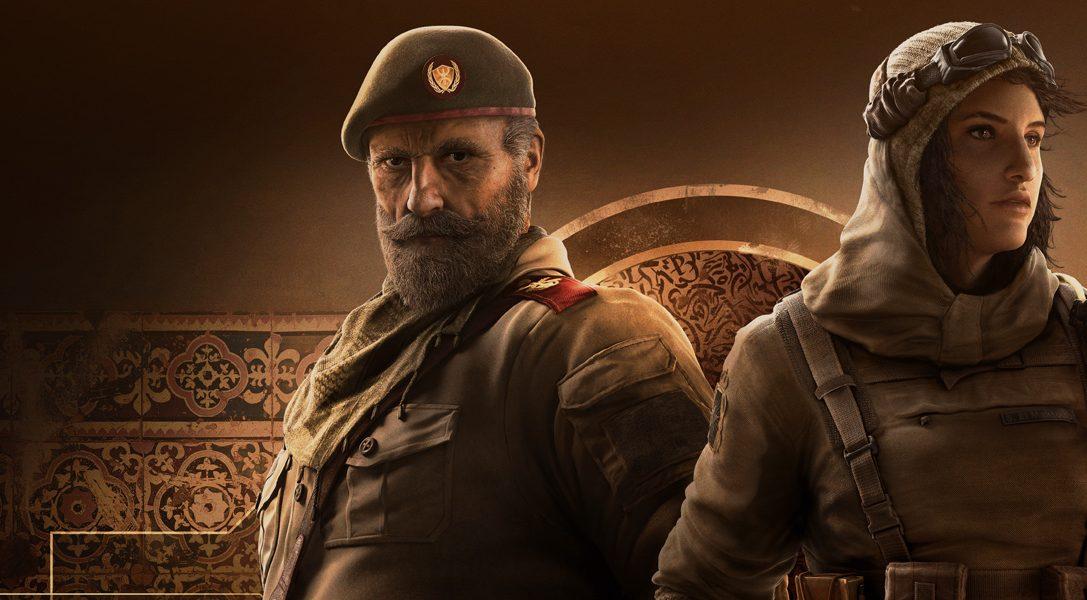 Découvrez les nouveaux agents de Rainbow Six Siege et la nouvelle carte de l'Opération Wind Bastion