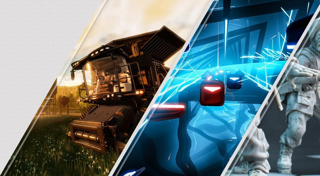 Les nouveautés du PlayStation Store de la semaine : Farming Simulator, Beat Saber, Rush VR et d'autres