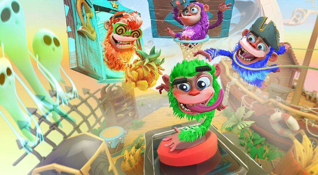 Chimparty propulse les jeux de société familiaux sur PS4 avec le PlayLink