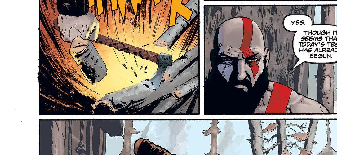 Découvrez en exclusivité et en avant-première le comics God of War à paraître la semaine prochaine