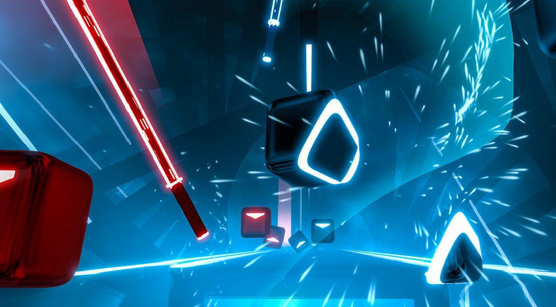 Le jeu d'action et de rythme Beat Saber a désormais une date de sortie sur PS VR