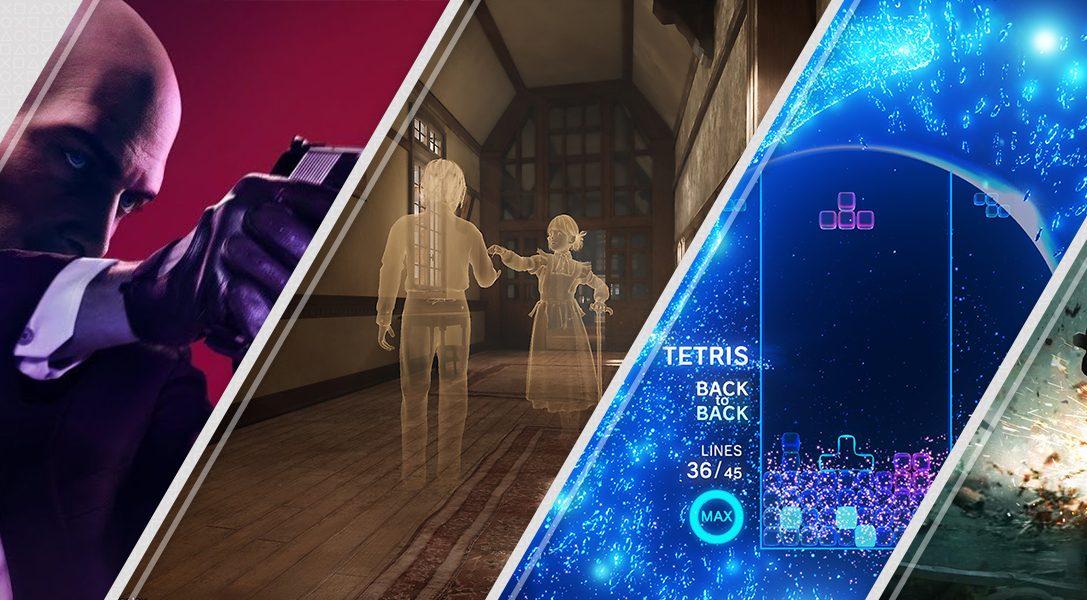Les nouveautés de la semaine sur le PlayStation Store : Hitman2, Déraciné, Tetris Effect et bien plus