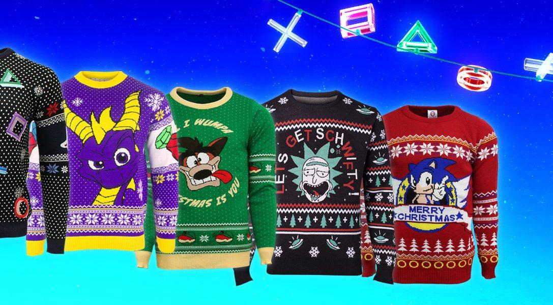 Soyez d'humeur festive avec PlayStation Gear