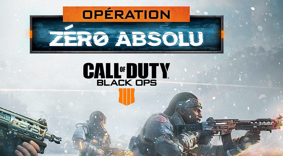 Call of Duty®: Black Ops 4 se met à l'heure d'hiver