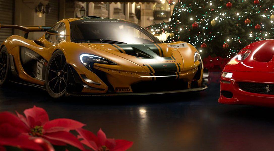 La mise à jour de décembre pour GT Sport propose un nouveau circuit, sept voitures et un site Scapes de saison