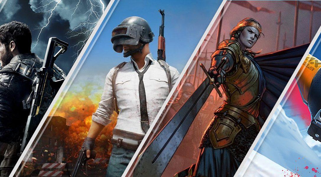 Les nouveautés de la semaine sur le PlayStation Store : Just Cause 4, PUBG, Thronebreaker: The Witcher Tales, et plus encore
