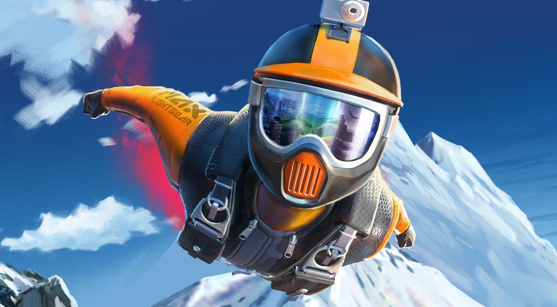 Découvrez les bases de la course en wingsuit avant la sortie du jeu de sports extrêmes Rush VR sur PS VR demain
