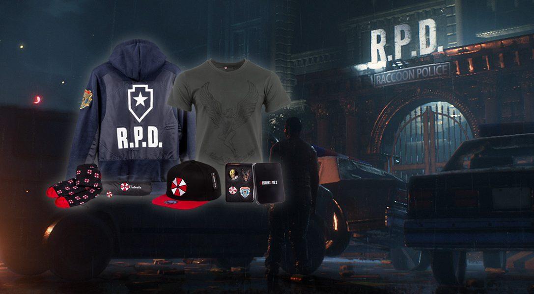 Une nouvelle gamme de produits Resident Evil 2 est désormais disponible sur PlayStation Gear