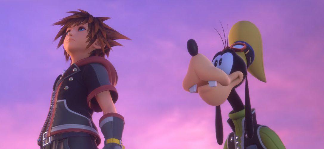 Kingdom Hearts III est disponible maintenant sur PS4