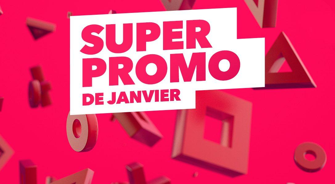 La Super Promo de janvier se poursuit sur le PlayStation Store avec de nouveaux titres en promotion