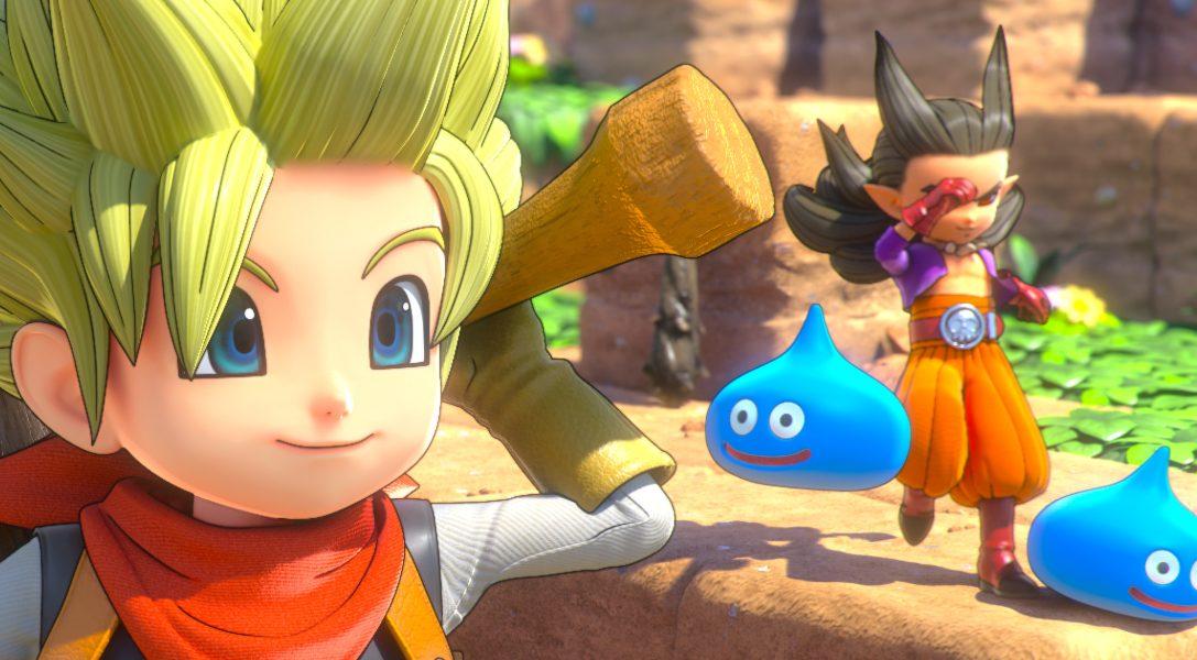 Dragon Quest Builders 2 sera disponible le 12 juillet en Europe