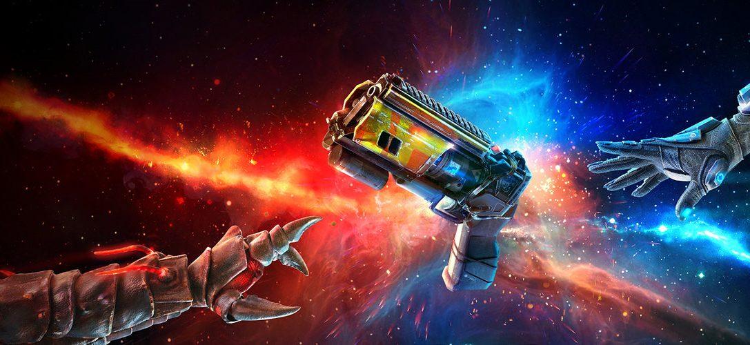 Enfilez votre jetpack et entrez dans la compétition au cœur de l'arène PS VR de Space Junkies le 26 mars