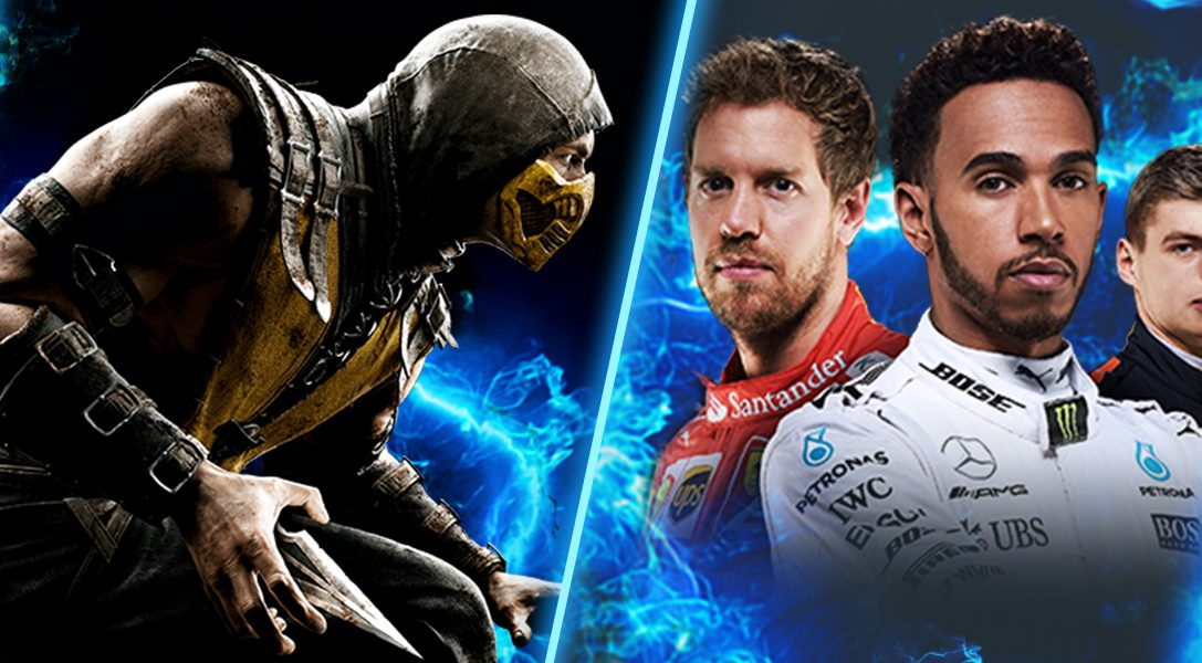 Mortal Kombat X, Metal Gear Solid HD Collection, F1 2017 en tête des nouvelles sorties PS Now en février