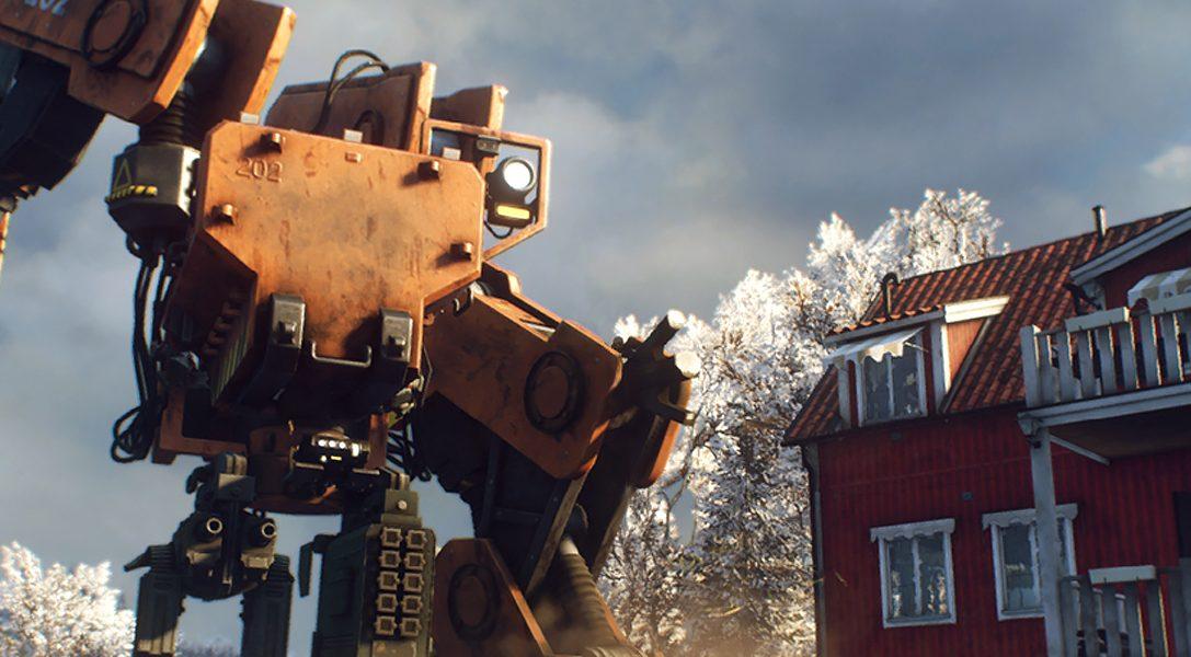 Combattez des machines dans une Suède ravagée par la guerre dans le nouveau jeu de tir en coopération Generation Zero, sur PS4 la semaine prochaine