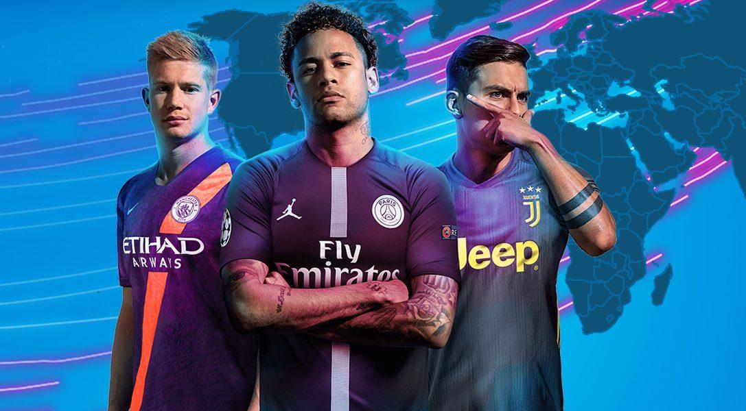 Ne manquez pas le tournoi pro Français FIFA 19 Global Series, présenté par PlayStation