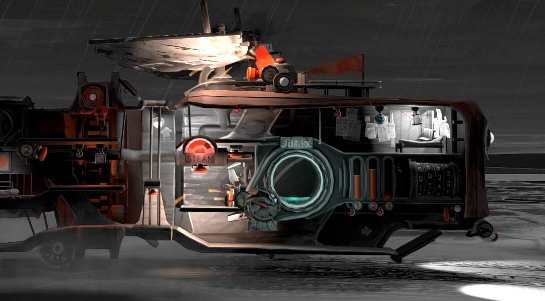 Réparez et pilotez un navire terrestre dans un tranquille désert post-apocalyptique dans FAR: Lone Sails, le 2 avril sur PS4