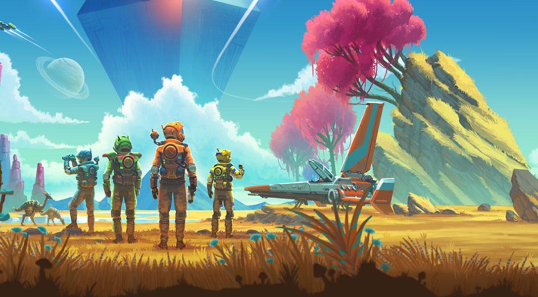 Les premiers détails sur No Man's Sky Beyond, l'énorme nouvelle extension du jeu d'aventure sci-fi sur PS4, annoncée pour cet été