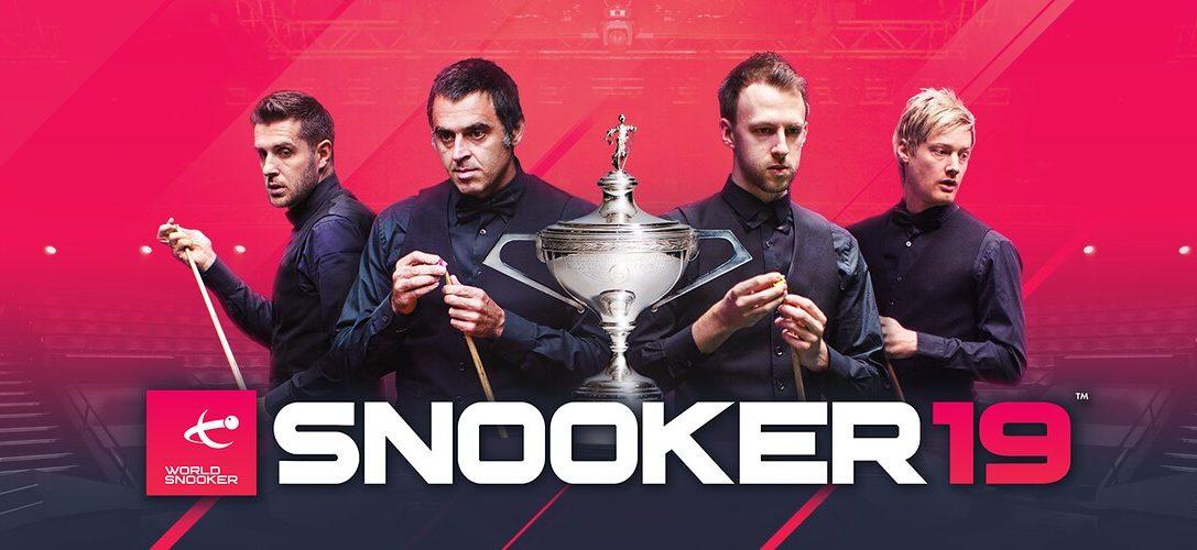 Un aperçu de Snooker19, le jeu de simulation sportive disponible prochainement sur PS4