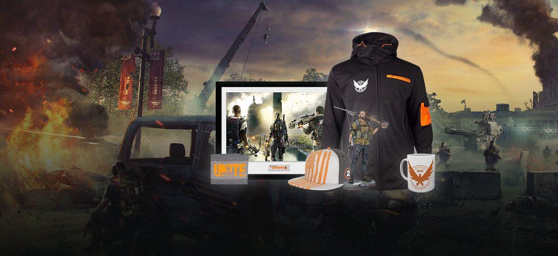 Fêtez la sortie de The Division 2 avec la nouvelle gamme PlayStation Gear