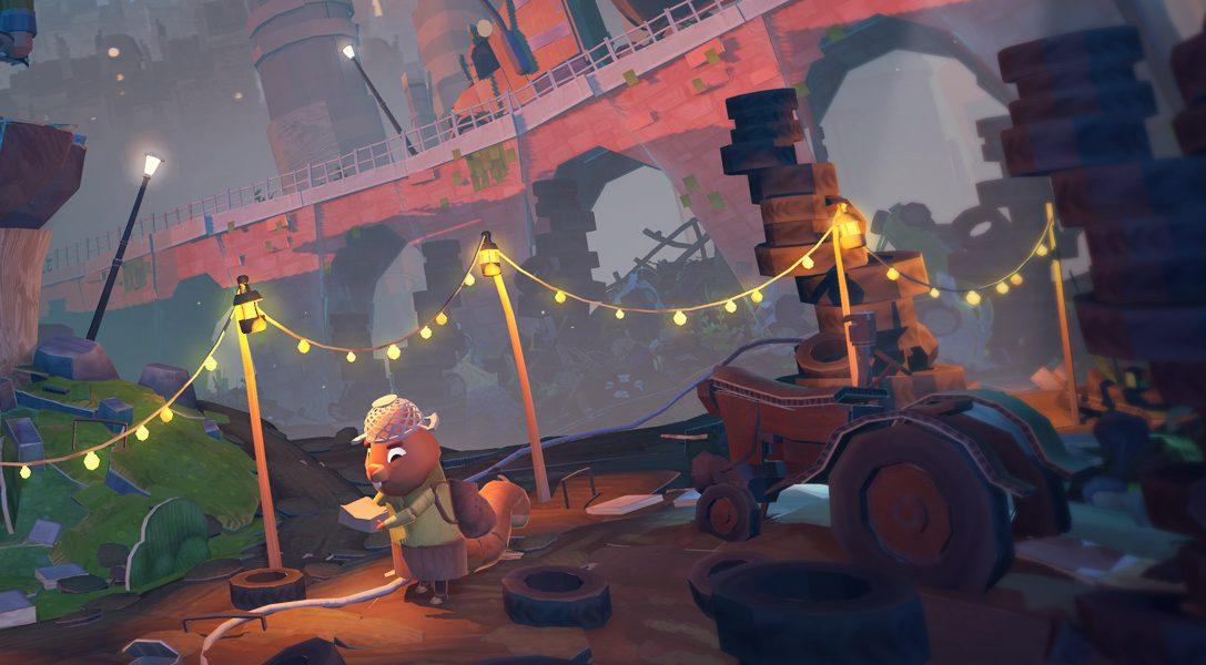 GhostGiant, une aventure artisanale qui vient du cœur, est disponible dès demain sur PSVR
