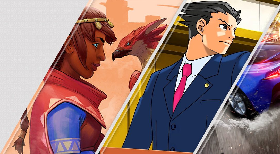 Nouveautés de la semaine sur le PlayStationStore: FalconAge, PhoenixWright:AceAttorneyTrilogy et bien plus