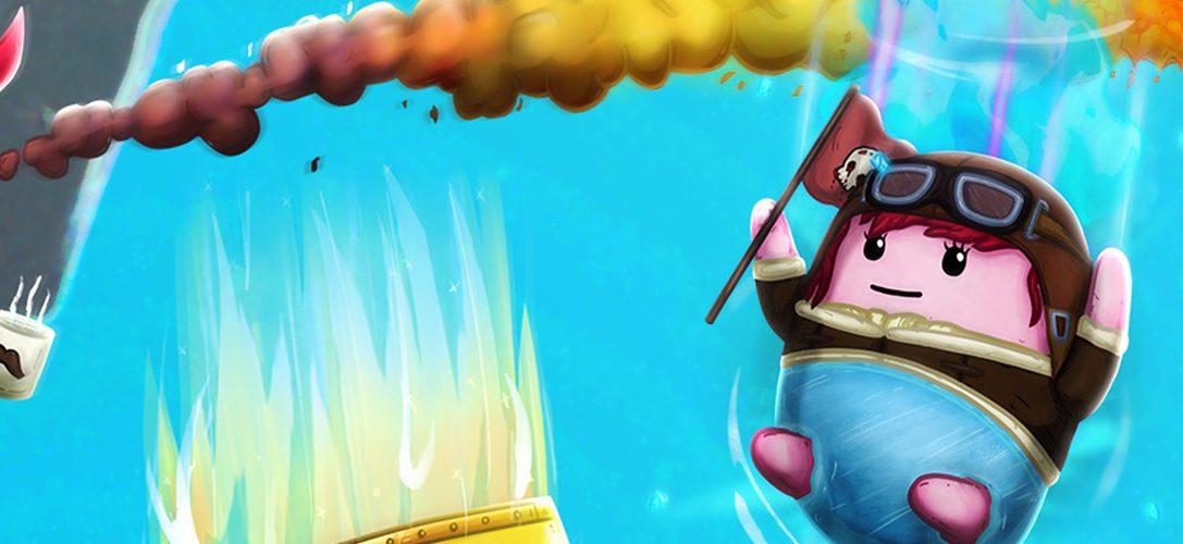 Attrapez votre slip porte-bonheur et que la fête du slip commence dans Brief Battles, sortie prévue le 7 mai sur PS4