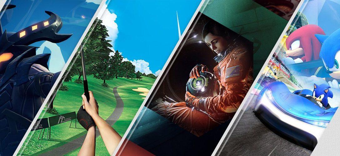 Nouveautés PlayStation Store de la semaine: Everybody's Golf VR, Dauntless, Team Sonic Racing, et bien plus