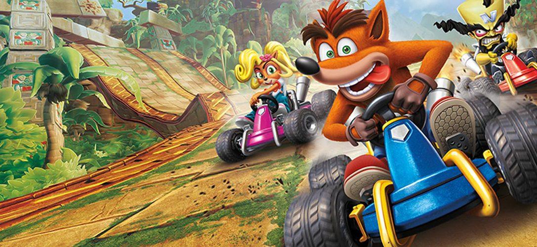 Découvrez les packs console PS4 Crash Team Racing Nitro-Fueled