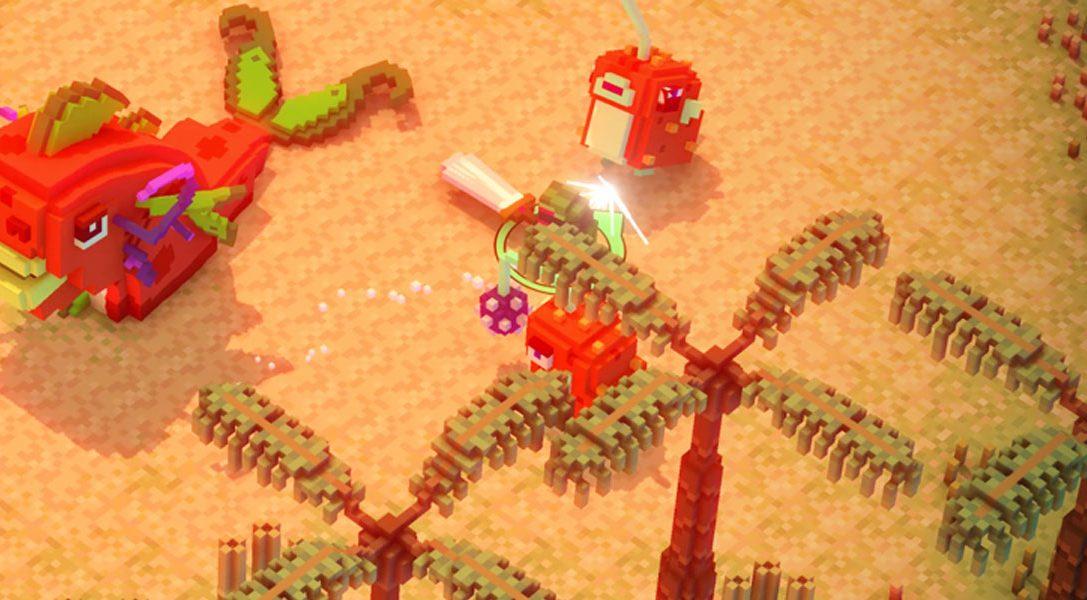 Riverbond, le shoot-and-slash mignon en voxel arrive cet été sur PS4