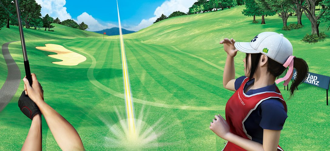 La démo d'Everybody's Golf VR est disponible aujourd'hui