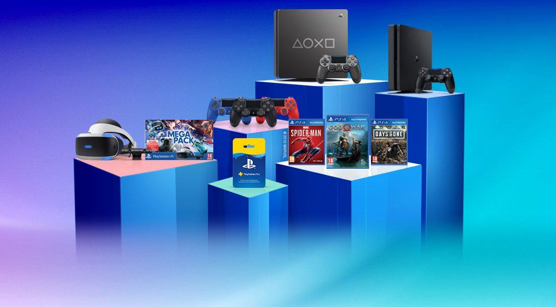 DaysofPlay: 11jours de promotions exceptionnelles et une nouvelle console PS4 en édition limitée