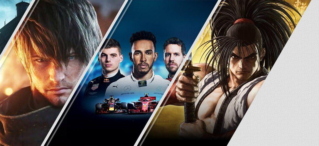 Les 5 nouveautés essentielles sur le PlayStationStore cette semaine: TheSinkingCity, FinalFantasyXIV: Shadowbringers, F12019, et bien d'autres