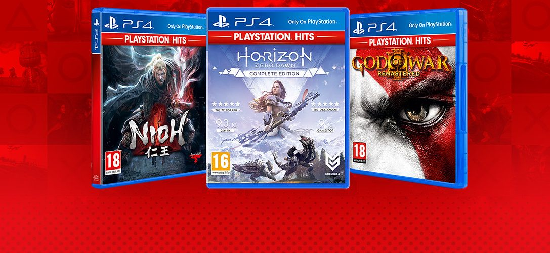De nouveaux ajouts dans la gamme PlayStation Hits