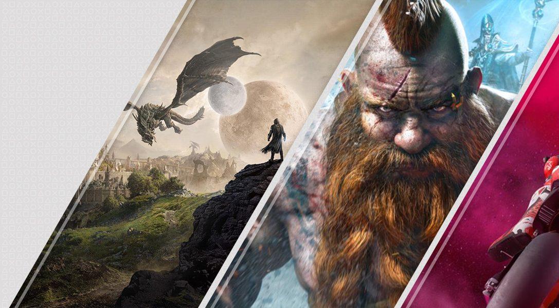 Les nouveautés de la semaine sur le PlayStation Store: The Elder Scrolls Online: Elsweyr, Warhammer: Chaosbane, MotoGP19, et plus encore
