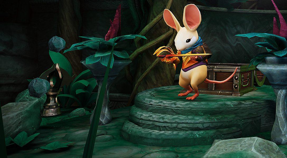 Dans notre nouvelle mise à jour gratuite, découvrez un chapitre inédit pour Moss, l'aventure sur PS VR