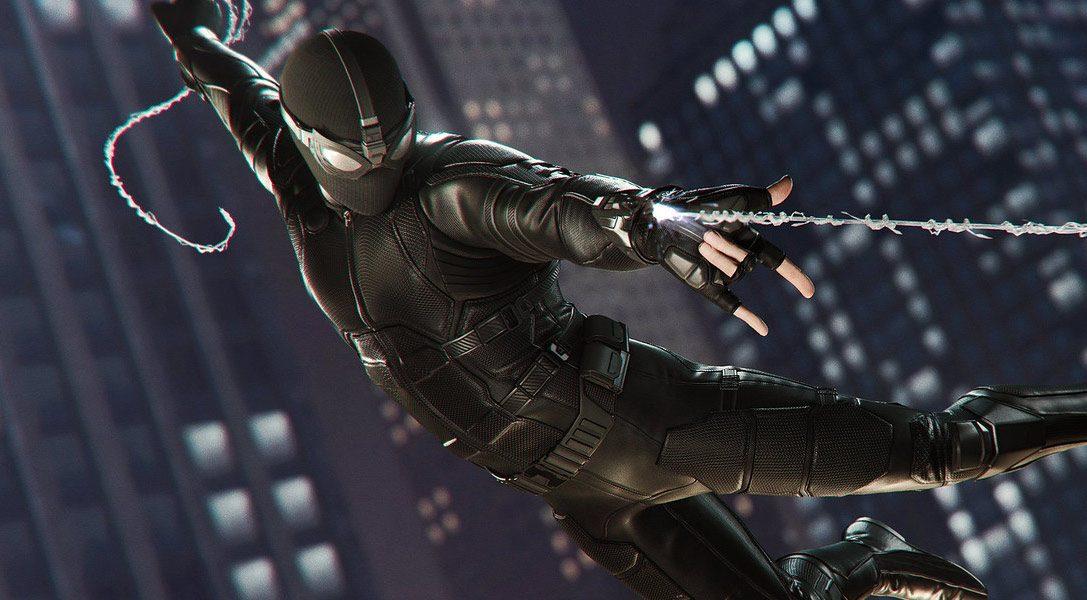 FAR FROM HOME s'invite dans Marvel's Spider-Man
