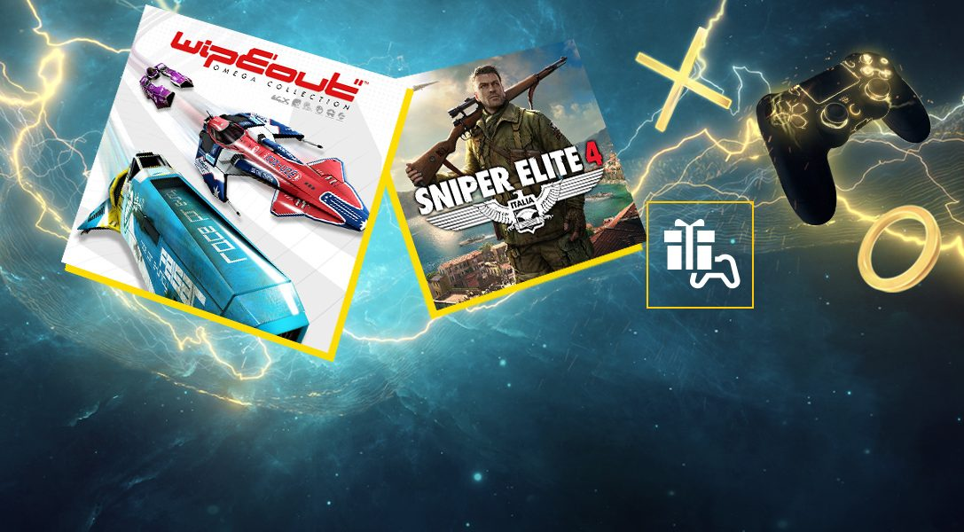WipEout Omega Collection et Sniper Elite 4 sont vos jeux PlayStation Plus du mois d'août