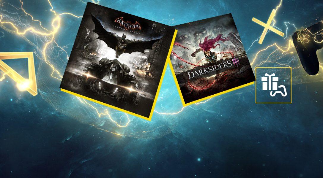 Batman: Arkham Knight et Darksiders III sont vos jeux PlayStation Plus du mois de septembre